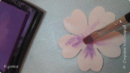 Мастер-класс Флористика искусственная Моделирование конструирование Мк экспресс - цветочков для скрапбукинга Бумага фото 16