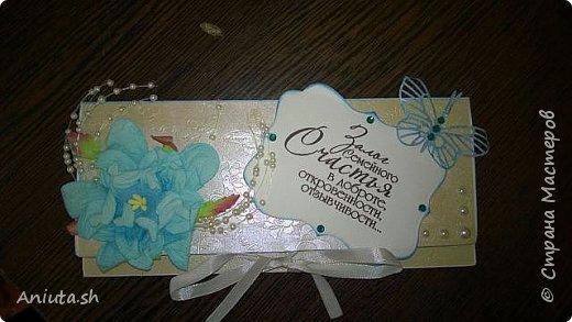 Свадебные конверты. фото 3