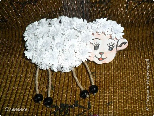 добрый день жители страны ! огромные отары овец ,барашек и коз бродят по нашему сайту    все уже готовятся к Новому году  и я туда-же .козочку делала опираясь на этот мастер класс. https://stranamasterov.ru/node/812442 . фото 8
