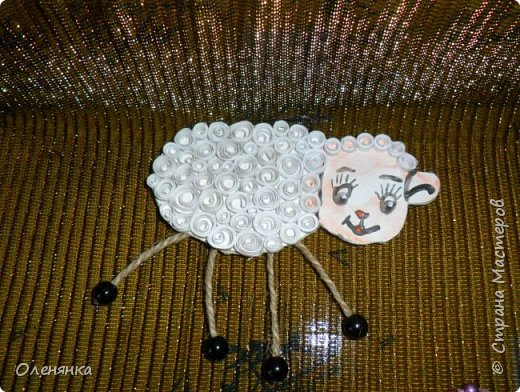 добрый день жители страны ! огромные отары овец ,барашек и коз бродят по нашему сайту    все уже готовятся к Новому году  и я туда-же .козочку делала опираясь на этот мастер класс. https://stranamasterov.ru/node/812442 . фото 9