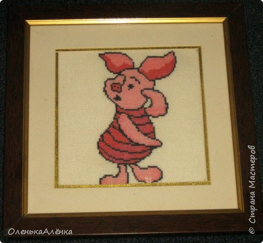 Картина в подарок любимой куме. фото 7