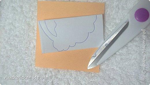 Мастер-класс Открытка Новый год Вырезание Киригами pop-up Два Мороза Бумага фото 10