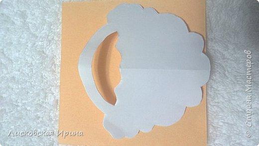 Мастер-класс Открытка Новый год Вырезание Киригами pop-up Два Мороза Бумага фото 12