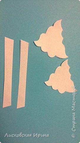 Мастер-класс Открытка Новый год Вырезание Киригами pop-up Два Мороза Бумага фото 15