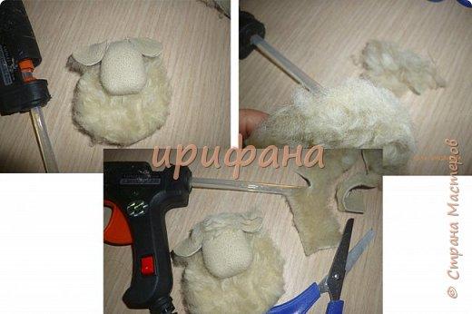 Добрый день!Ещё один МК по овечкам. фото 6