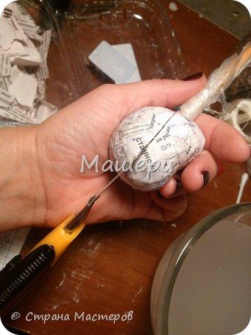 Куклы Мастер-класс Лепка Папье-маше Голова куклы из папье-маше и керапласта Бумага газетная Глина Клей Пластилин фото 9