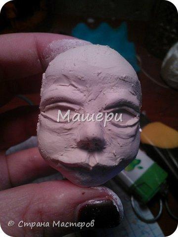 Куклы Мастер-класс Лепка Папье-маше Голова куклы из папье-маше и керапласта Бумага газетная Глина Клей Пластилин фото 21