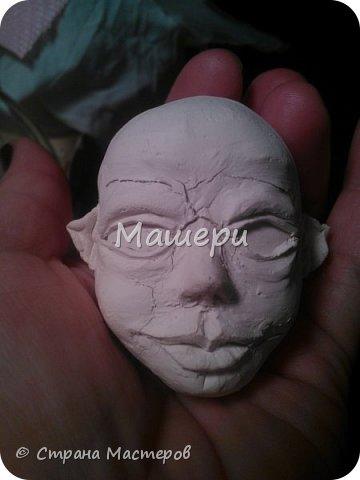 Куклы Мастер-класс Лепка Папье-маше Голова куклы из папье-маше и керапласта Бумага газетная Глина Клей Пластилин фото 23