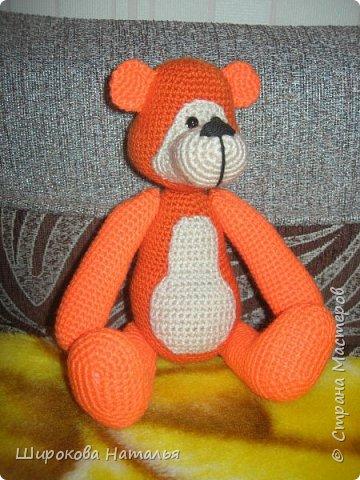 МК Рыжего медведя Пряжа