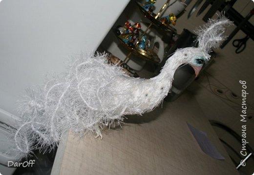 Приветствую всех!   Предлагаю сделать вот такую куропатку! Вообще-то это павлин... но уж больно на куропатку смахивает! ))))))))))) фото 17