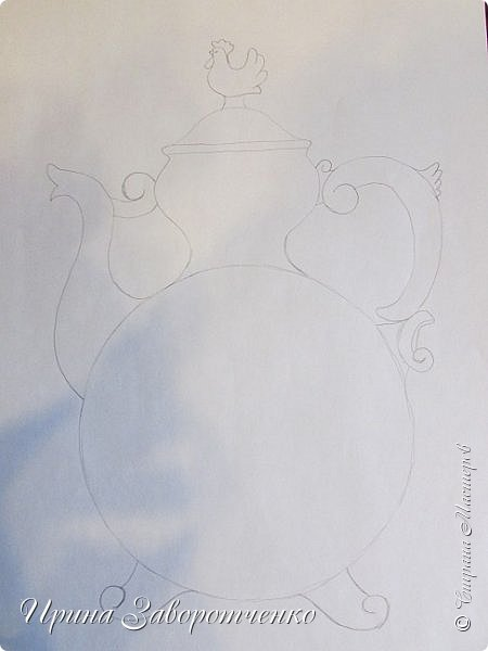 "Объёмная аппликация из сердечек в стиле ""Гжель"" (КУМГАН) Шаблоны сердечек здесь http://stranamasterov.ru/node/814507 фото 3"