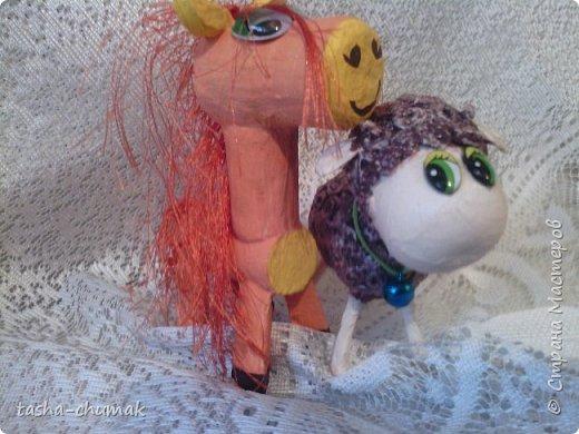 И у меня теперь есть символ нового года! Моя овечка Соня! фото 5