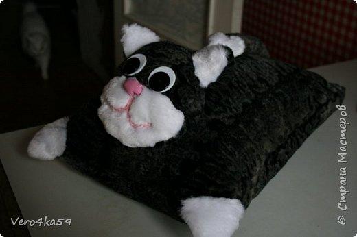 Кот- подушка