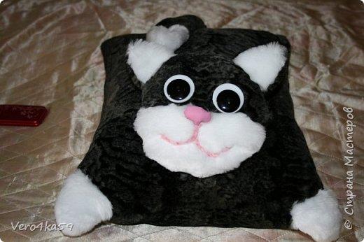 Кот- подушка фото 2