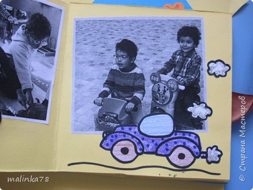 В прошлом году я делала выпускные альбомы деткам, которые покидают садик посмотрите, что у меня получилось фото 12