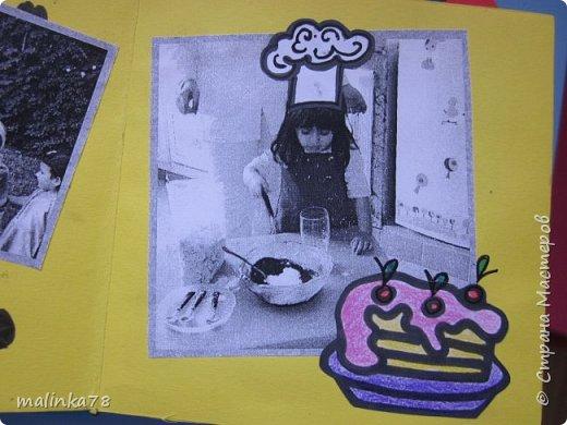 В прошлом году я делала выпускные альбомы деткам, которые покидают садик посмотрите, что у меня получилось фото 6