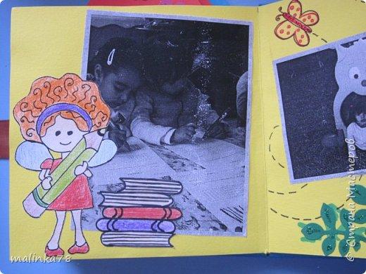 В прошлом году я делала выпускные альбомы деткам, которые покидают садик посмотрите, что у меня получилось фото 8