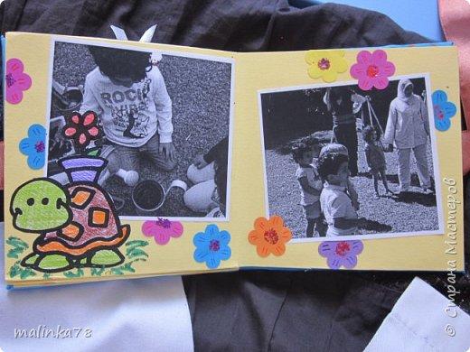 В прошлом году я делала выпускные альбомы деткам, которые покидают садик посмотрите, что у меня получилось фото 11