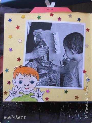 В прошлом году я делала выпускные альбомы деткам, которые покидают садик посмотрите, что у меня получилось фото 21