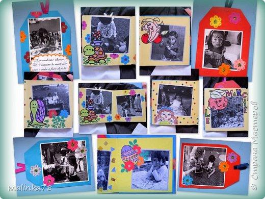 В прошлом году я делала выпускные альбомы деткам, которые покидают садик посмотрите, что у меня получилось фото 32
