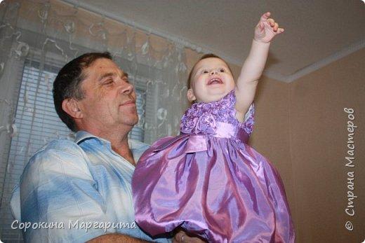 Любимой внученьке Диане исполнился годик, в дополнение к основному подарку сделала маленький букетик из игрушки. фото 10
