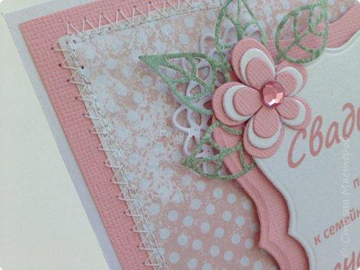 Все чаще я стала делать свадебные открытки:)  фото 6