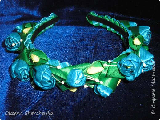 Мастер-класс Поделка изделие Украшение Новый год Цумами Канзаши Делать было нечего сделала корону Бутылки пластиковые Ленты фото 17