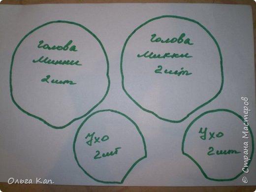 Для работы потребуется: - бумага - карандаш - ножницы - иголка - нитки - ткань (черная, бежевая, белая, сиреневая, синяя, оранжевая, голубая, желтая, розовая, красная) - атласная лента (шириною 5 см, 2 см, 0,5 см) - пуговицы белые 2 шт - желтое кольцо - синтепон фото 7