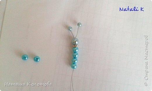 Предлагаю мой мастер-класс по изготовлению бабочки, получается очень красиво, можно украсить ободок, заколку. фото 10