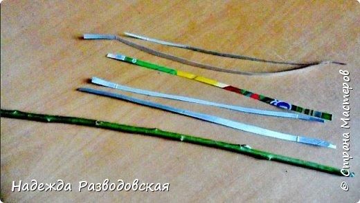 Мастер-класс. Спиральное плетение вокруг каркаса.( Из соломки, газетных трубочек, картонных полосок) фото 33