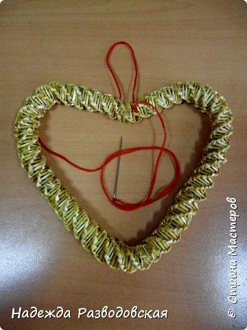 Мастер-класс. Спиральное плетение вокруг каркаса.( Из соломки, газетных трубочек, картонных полосок) фото 47