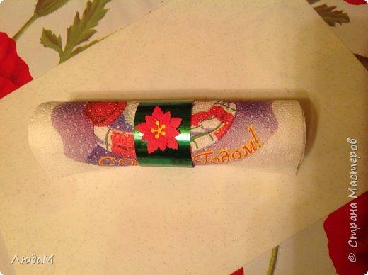 Декор предметов Мастер-класс Новый год Рождество Бумагопластика Кольца для салфеток+ маленький МК Бумага фото 1