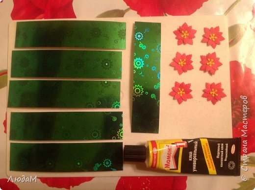 Декор предметов Мастер-класс Новый год Рождество Бумагопластика Кольца для салфеток+ маленький МК Бумага фото 2