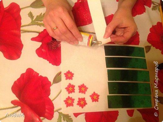 Декор предметов Мастер-класс Новый год Рождество Бумагопластика Кольца для салфеток+ маленький МК Бумага фото 3