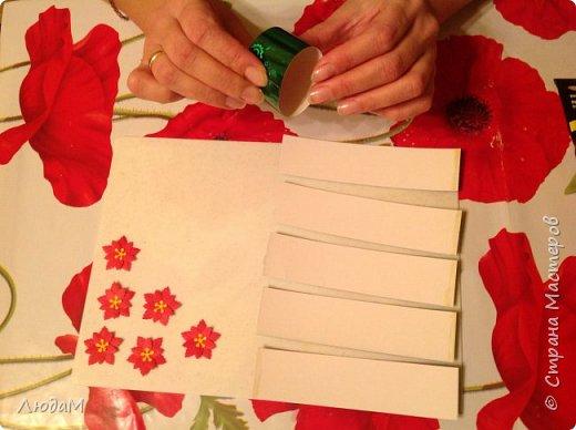 Декор предметов Мастер-класс Новый год Рождество Бумагопластика Кольца для салфеток+ маленький МК Бумага фото 7