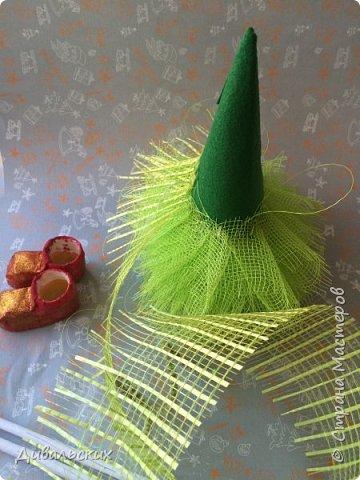 Поделка изделие Новый год Рождество Моделирование конструирование Ёлочка Скоро Новый год +маленький мк Бусины Киндер-сюрприз Проволока Фетр Шишки фото 10