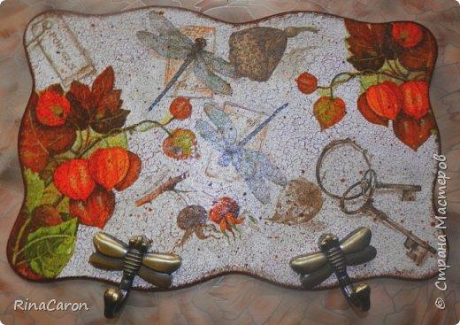 Декор предметов Декупаж Кракелюр Декупаж на кракелюре Дерево фото 1