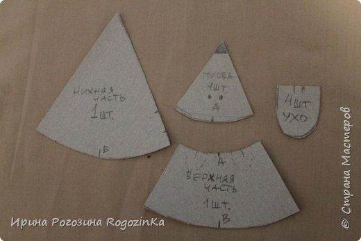 Мастер-класс Новый год Шитьё Новогодняя мышка МК по изготовлению Краска Нитки Сутаж тесьма шнур Ткань фото 3