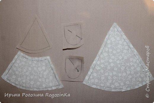 Мастер-класс Новый год Шитьё Новогодняя мышка МК по изготовлению Краска Нитки Сутаж тесьма шнур Ткань фото 4
