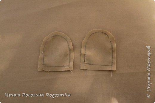 Мастер-класс Новый год Шитьё Новогодняя мышка МК по изготовлению Краска Нитки Сутаж тесьма шнур Ткань фото 5