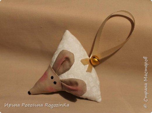 Мастер-класс Новый год Шитьё Новогодняя мышка МК по изготовлению Краска Нитки Сутаж тесьма шнур Ткань фото 16