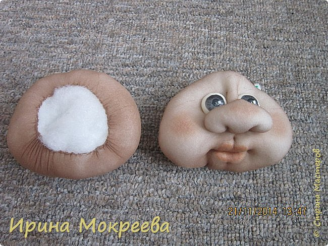 Мастер-класс Новый год Шитьё снегурочка 1-я часть Капрон Мех Нитки Сутаж тесьма шнур Ткань фото 6