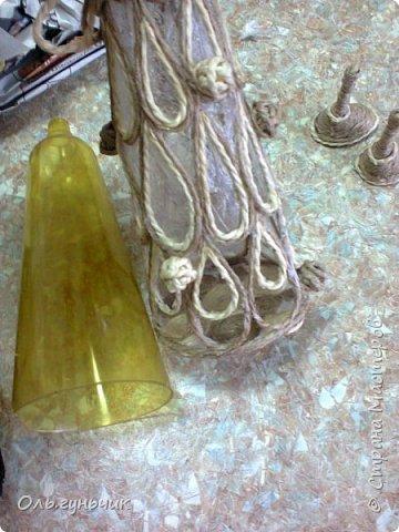 Мастер-класс Поделка изделие Новый год Моделирование конструирование Филигранная елочка МК Клей Кофе Шпагат фото 15