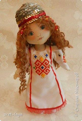 Чувашские куклы своими руками