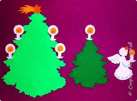Новый год - самый яркий из всех праздников в году. А вот новогодние вытынанки делают из бумаги одного цвета, обычно белого, иногда добавляя фон другого цвета. Но мне захотелось сделать их яркими, новогодними. За основу взял обычные вытынанки из интернета. Новогодние вытынанки. фото 10
