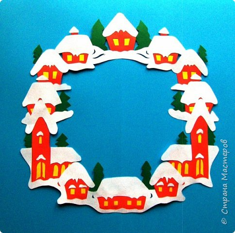 Новый год - самый яркий из всех праздников в году. А вот новогодние вытынанки делают из бумаги одного цвета, обычно белого, иногда добавляя фон другого цвета. Но мне захотелось сделать их яркими, новогодними. За основу взял обычные вытынанки из интернета. Новогодние вытынанки. фото 17