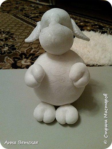 Игрушка Мастер-класс Новый год Моделирование конструирование Шитьё Овечки всякие нужны  овечки всякие важны  часть 2 Капрон Мех Нитки фото 23