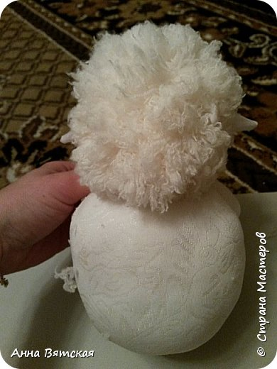Игрушка Мастер-класс Новый год Моделирование конструирование Шитьё Овечки всякие нужны  овечки всякие важны  часть 2 Капрон Мех Нитки фото 26