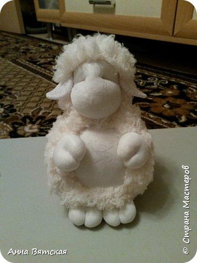 Игрушка Мастер-класс Новый год Моделирование конструирование Шитьё Овечки всякие нужны  овечки всякие важны  часть 2 Капрон Мех Нитки фото 27