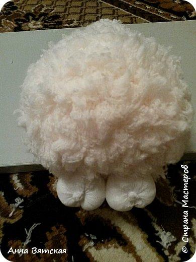 Игрушка Мастер-класс Новый год Моделирование конструирование Шитьё Овечки всякие нужны  овечки всякие важны  часть 2 Капрон Мех Нитки фото 29